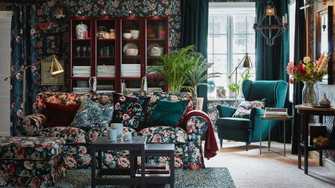Cosy up with florals this Autumn with IKEA