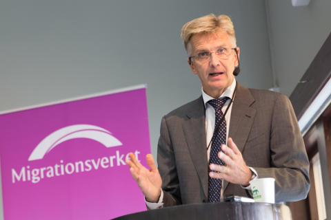 Anders Danielsson, Director-General at the Swedish Migration Agency