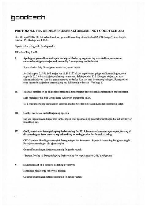 Protokoll ordinær generalforsamling 160428
