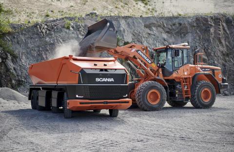 Scania AXL neues Scania Konzeptfahrzeug