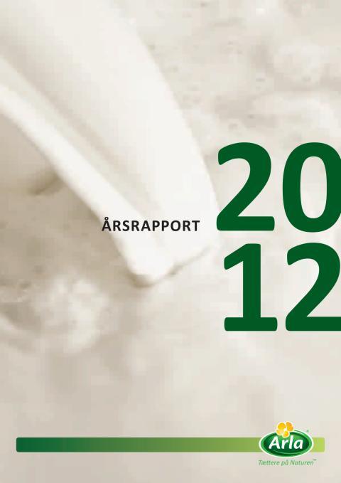 Arla Foods Årsrapport 2012