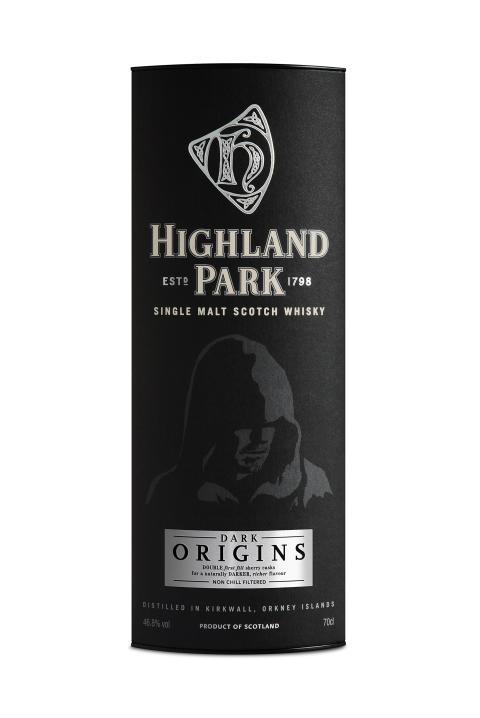 Highland Park Dark Origins carton packshot