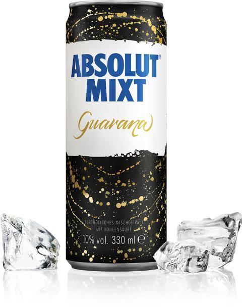 """Pulsierendes Nachtleben """"on the go"""" - der neue Absolut Ready-to-Drink """"Absolut MIXT Guarana"""""""