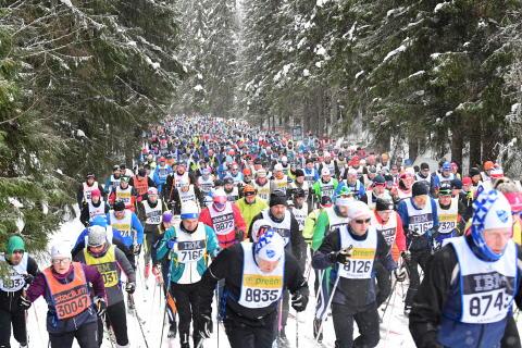 60 000 anmälda till Vasaloppets vintervecka 2019