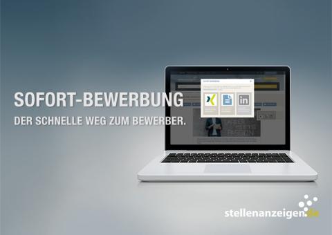 Die Sofort-Bewerbung auf stellenanzeigen.de: Der schnelle Weg zum Bewerber