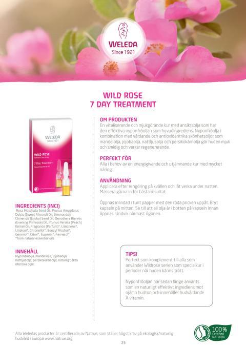 Wild Rose 7 Day Treatment