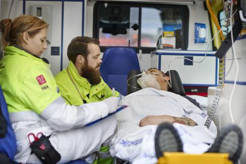 Falck ambulances obtain global ISO certification