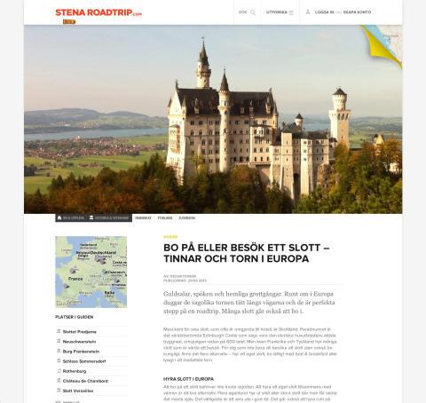 Exempel på artikel - stenaroadtrip.com