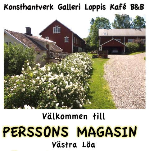 Sommarens utställare på Perssons Magasin i Västra Löa