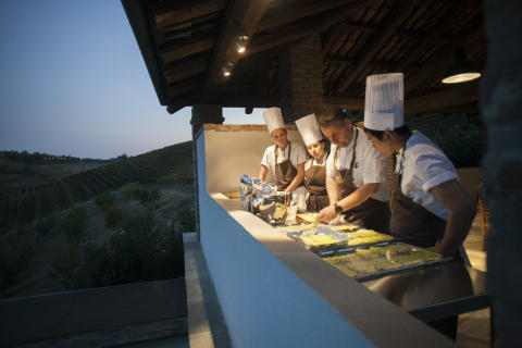 Barbera d'Asti vin + norsk torsk = Barbera Fish Festival