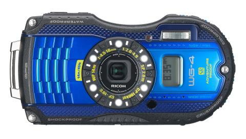 Ricoh WG-4 GPS blå