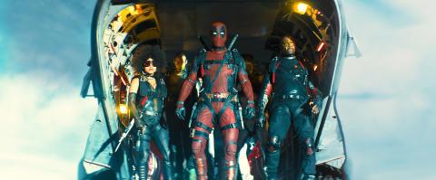 Hæsblæsende superhelteaction I Deadpool 2
