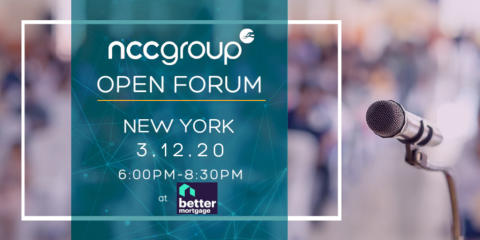 Open Forum in New York City at Better Mortgage
