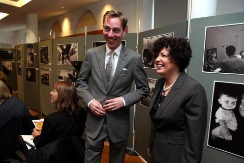 Lynn Rosenthal, White House Advisor on Violence Against Women, and Ryan Tubridy Launch MAN UP 2014