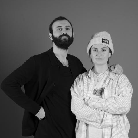 Sizar Alexis och Matilda Ström Ellow