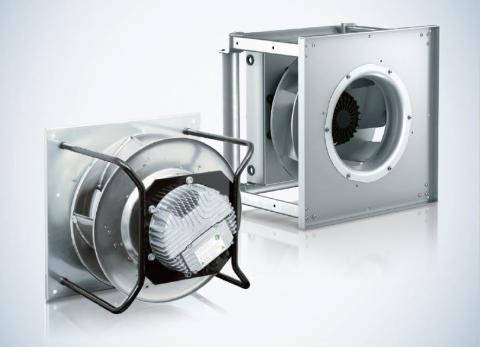 Fläktserien RadiPac för högtrycksapplikationer på upp till 2 500 pascal