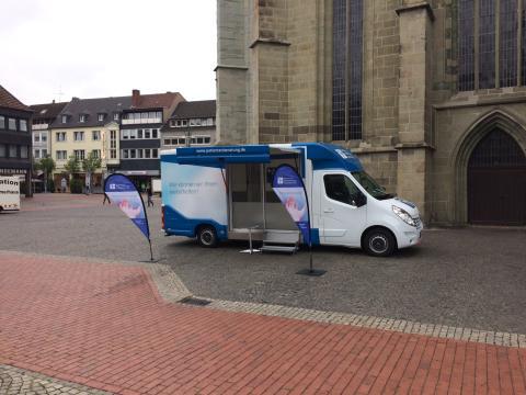 Beratungsmobil der Unabhängigen Patientenberatung kommt am 12. März nach Hamm.