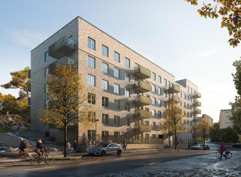 Nytt bostadskvarter i Kallhälls centrum