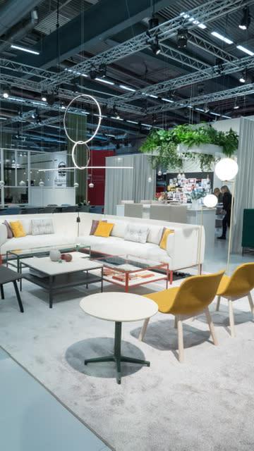 Materia skapar rum för nyheter på Stockholm Furniture Fair.
