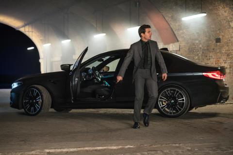 "Tom Cruise og BMW M5 ""behind the scenes"""