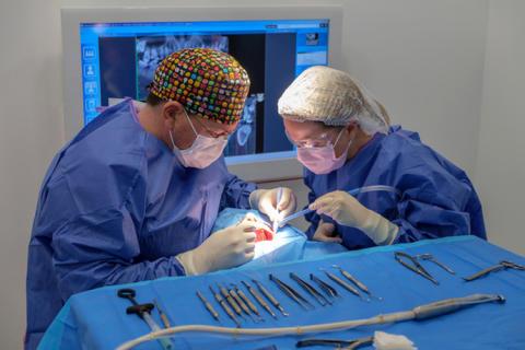 Dr. Guillaume Becker's patients just love Planmeca dental units