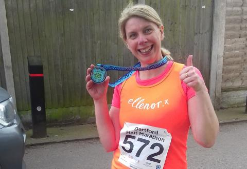 Marathon effort by ellenor supporters