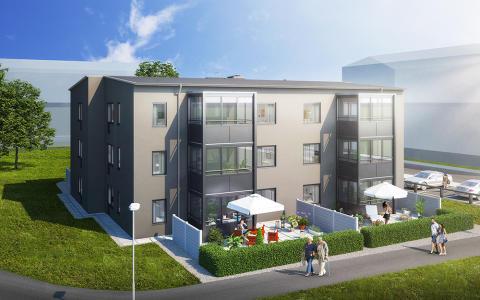 24 nya ABK-lägenheter på populära Sommarlust