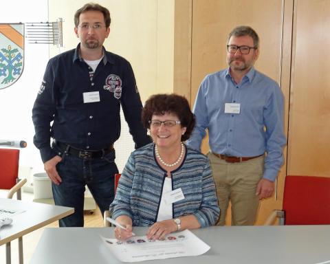Zielvereinbarung kommunales Netzwerk_Osterhofen