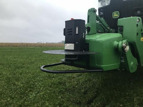 John Deere 8R med Precision Makers2