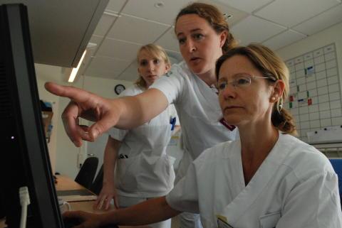 Läkemedelsexpertis på vårdavdelningar
