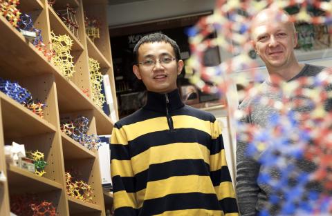 Yanhang Ma och Peter Oleynikov