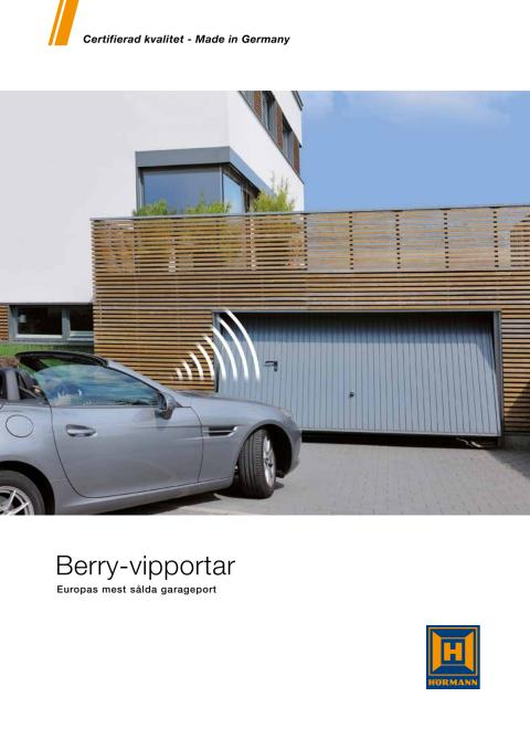 Berry-vipportar - Europas mest sålda garageport