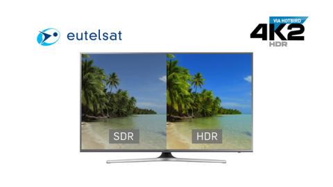 IBC 2016: Eutelsat presenta un canal Ultra HD de Alto Rango Dinámico (HDR)