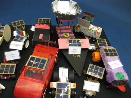 Stort intresse bland sjätteklassare för solbilsrace