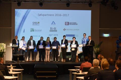 Xledgers sølvpartnere 2016-2017