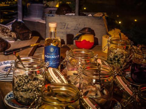 Skanör Aquavit  - Nubbe som passar förträffligt till julmaten