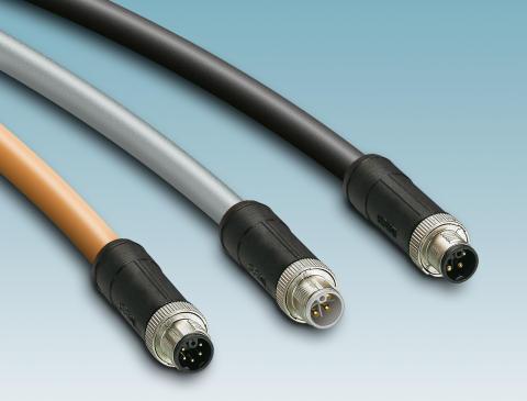 Konfeksjonerte M12-Power-kabler for høy effekt