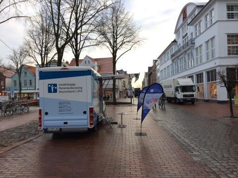 Beratungsmobil der Unabhängigen Patientenberatung kommt am 11. April nach Heide.