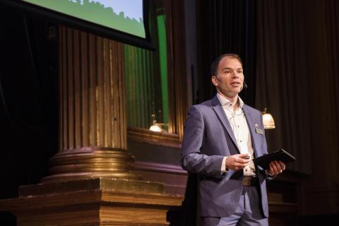 AMA konvent Thomas Lundgren, AMA chef Svensk Byggtjänst