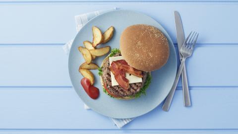 Grillet Angus burger med Friland Kødkvæg