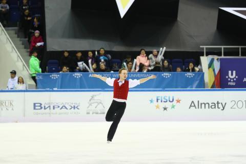 Brons till Alexander Majorov i Universiaden - studentidrottens motsvarighet till olympiska spel