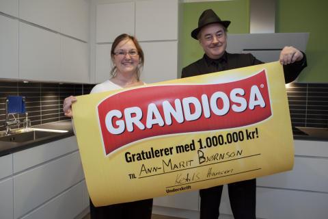 Hun ble Norges første Grandiosamillionær