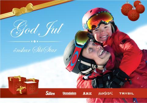 SkiStar AB: Tomte på köpet när du bokar fjällresan över jul