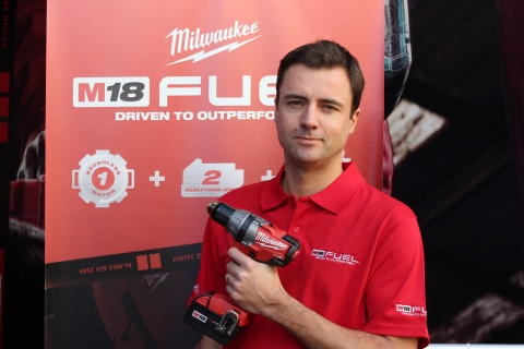 Milwaukee introducerar en ny standard på marknaden – Milwaukee M18 FUEL™