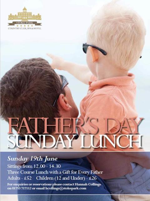 Make your Father feel special this Father's Day...