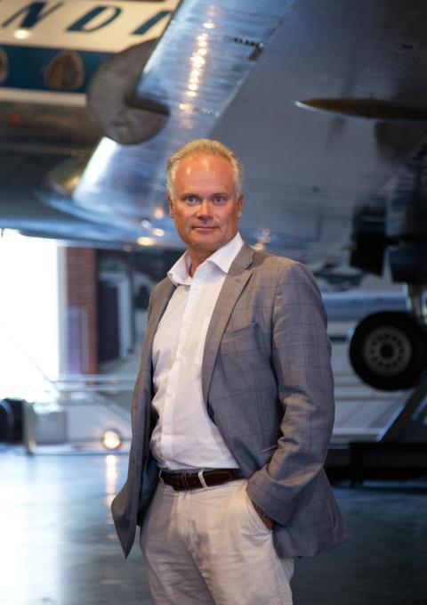 Frode Meinich, direktør ved Teknisk museum