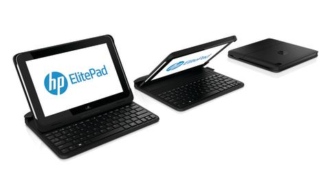 HP ElitePad with HP ElitePad Productivity Jacket