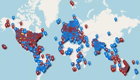 Globala klimatstrejker 20 & 27 september på minst 109 orter i Sverige