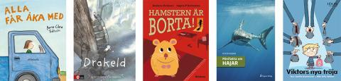 Förskolebarnens litteraturpris – fem favoritböcker framröstade