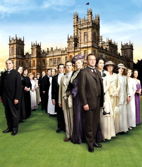 Dräkter från Downton på Hallwylska museet